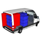 Transform your conventional cargo vehicle into a refrigerated delivery vehicle