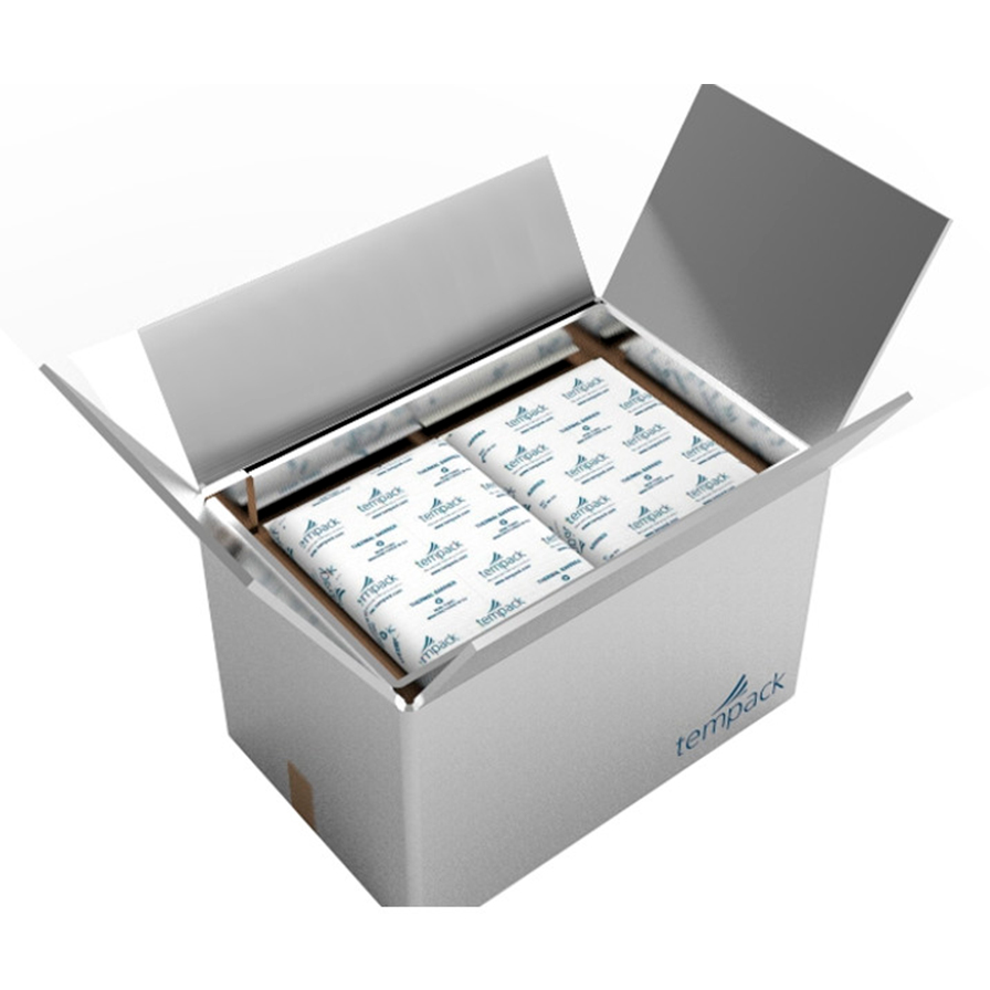 Foldable thermal packaging for food products